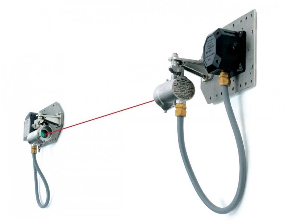Инфракрасный детектор газа Searchline Excel с открытым оптическим трактом