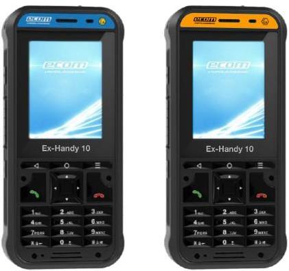 Смартфоны Ex-Handy 10 для Зоны 1 и для Зоны 2